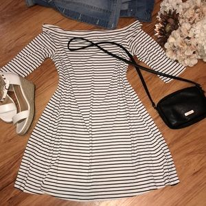 Old navy striped dress NWOT